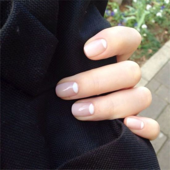 Simple Chic Nail Design For Capricorns