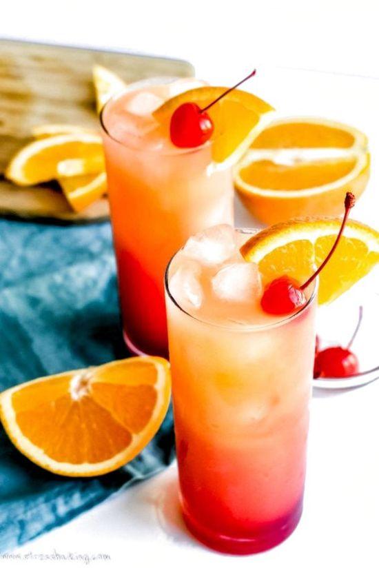 Fruitiest Mocktails - Sunset Virgin