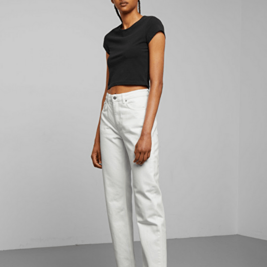 8 White Jeans Looks That Look Classy AF