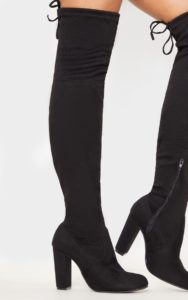 Thigh High Black Boots from Pretty Little Things