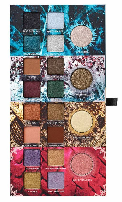 I Tried The Urban Decay Game Of Thrones Eyeshadow Palette And Here's My Thoughts