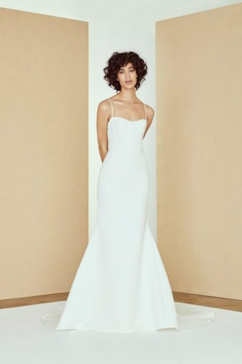 16 Modern Wedding Dresses For The Minimalist Bride