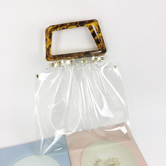 pvc bag cute bags style