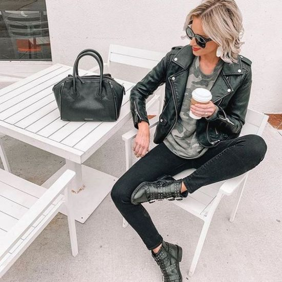 Moto Boots Are Here To Stay This Winter And We're Not Mad About It