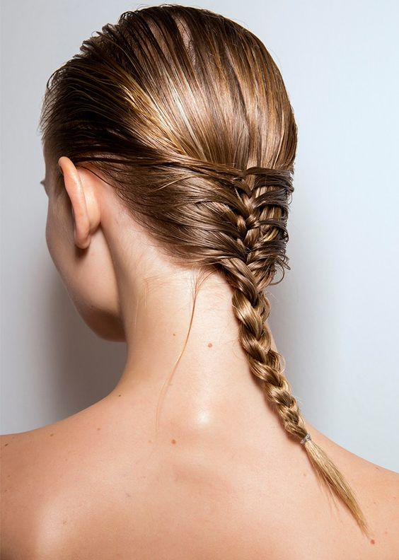 Easy Hairstyles For Wet Hair You'll Love