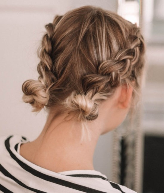 10 Bold And Trendy Updos For Short Hair Society19