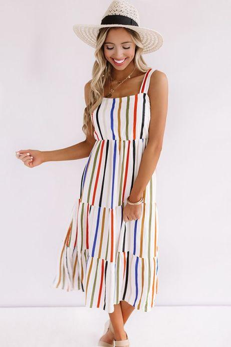 *20 Cute Midi Dresses You Need This Season