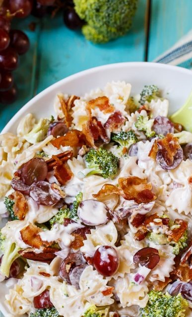 12 Light Summer Pasta Salads To Cook During The Season
