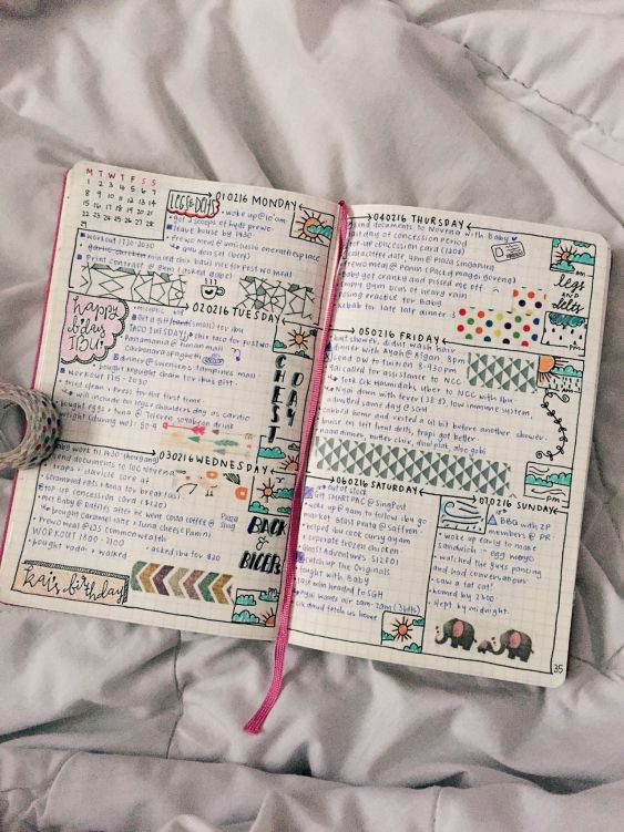 5 Things to Keep in Mind When Starting Your Bullet Journal