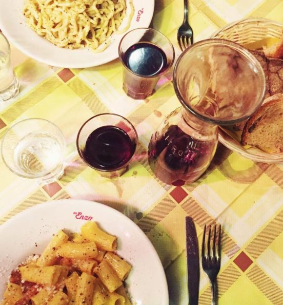 10 Places To Eat Pasta In Rome