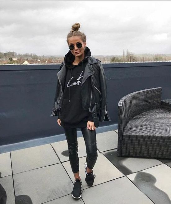 *5 Ways To Wear A Leather Jacket For Fall