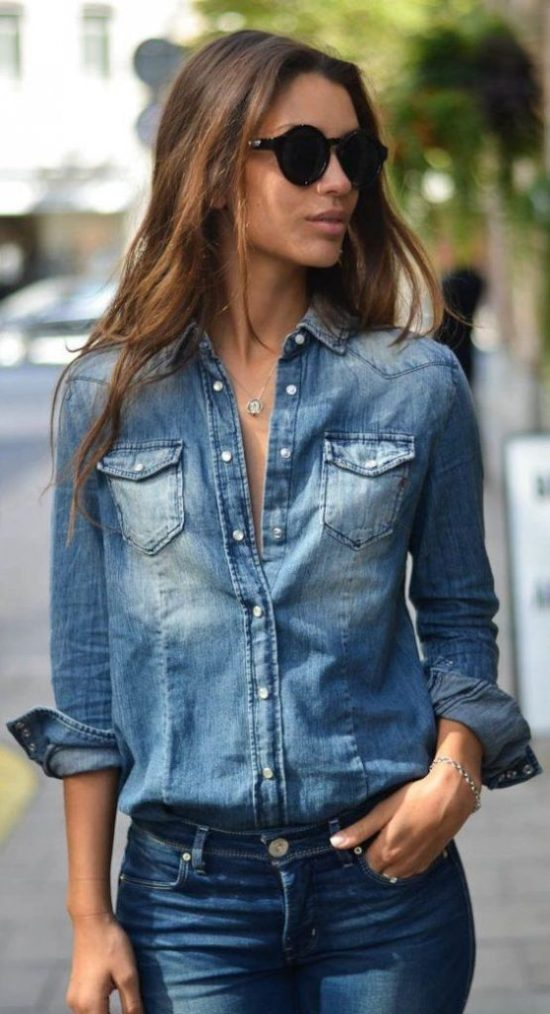 Actually Fashionable Ways To Wear Denim Thats Not Jeans