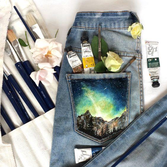 diy your clothes paint