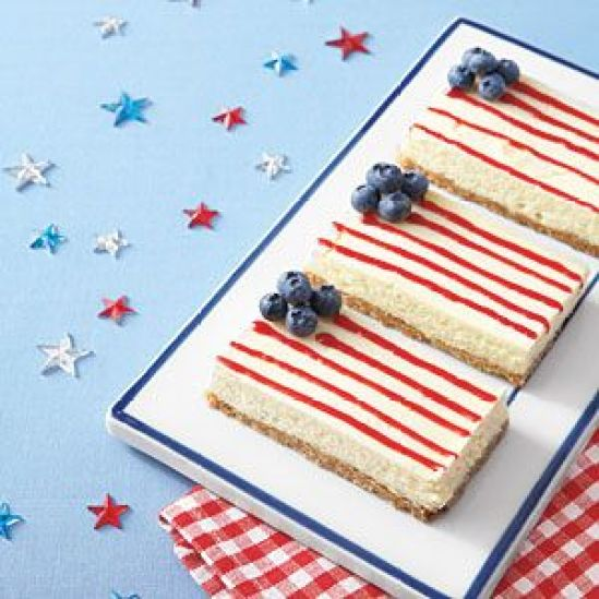 American Flag Cheesecake Bar Recipe To Try