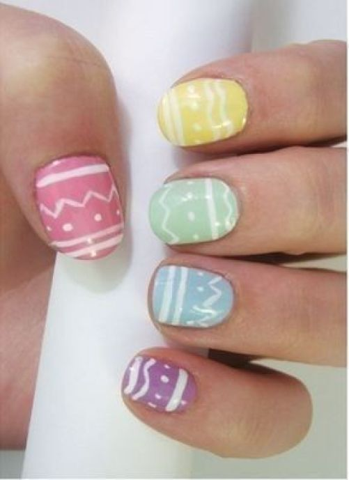 15 Easter Inspired Nail Looks We're Obsessing Over