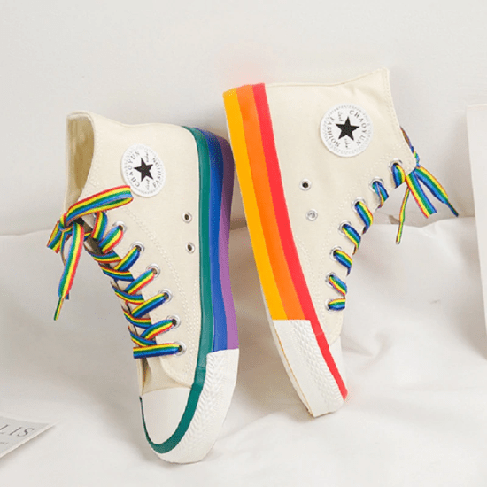 Cute Converse That Make Us Want To o Back To Our Middle School Aesthetics