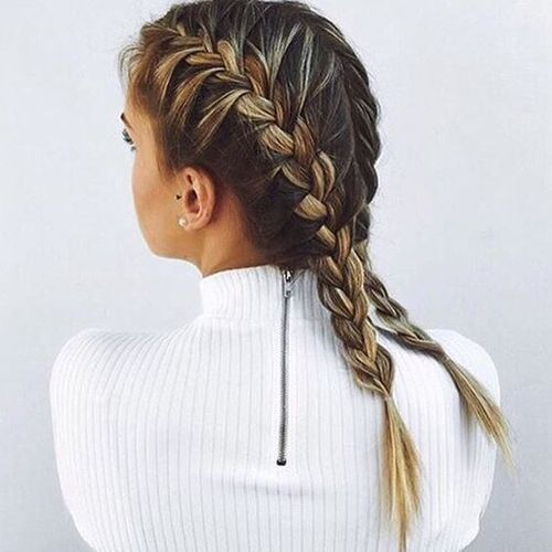 Cute, No-Heat Hairstyles For School