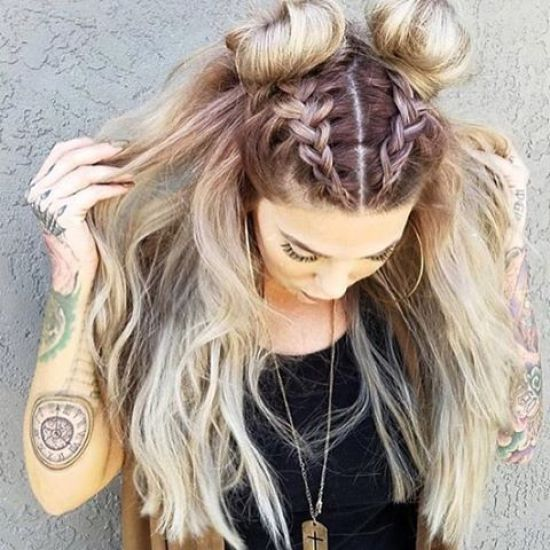 The Best Braided Space Buns You Need To Try Yourself