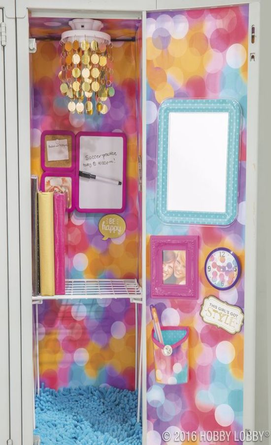 10 Cute Locker Decorations Ideas You Need To Steal