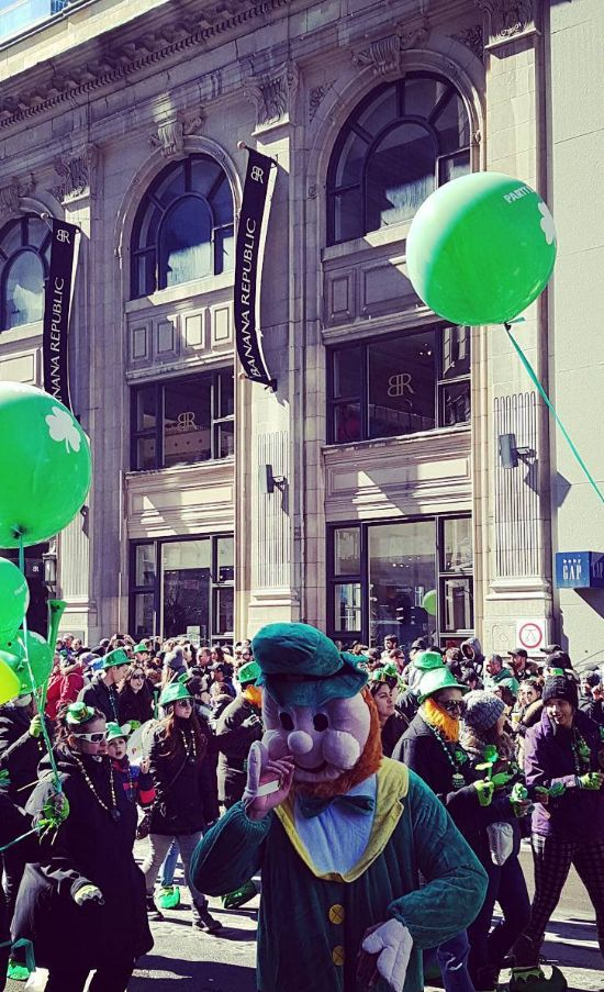 Reasons To Go To Montreal's St. Patrick's Day Parade