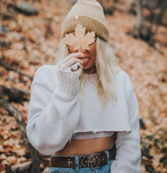 diy your clothes cropped top jumper