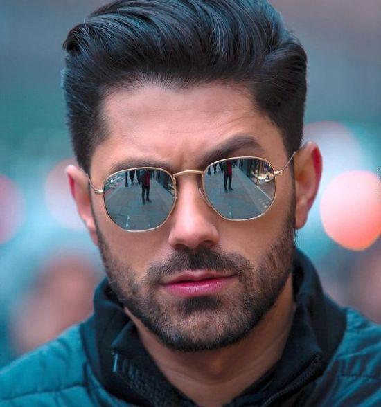 men's sunglasses hexagon
