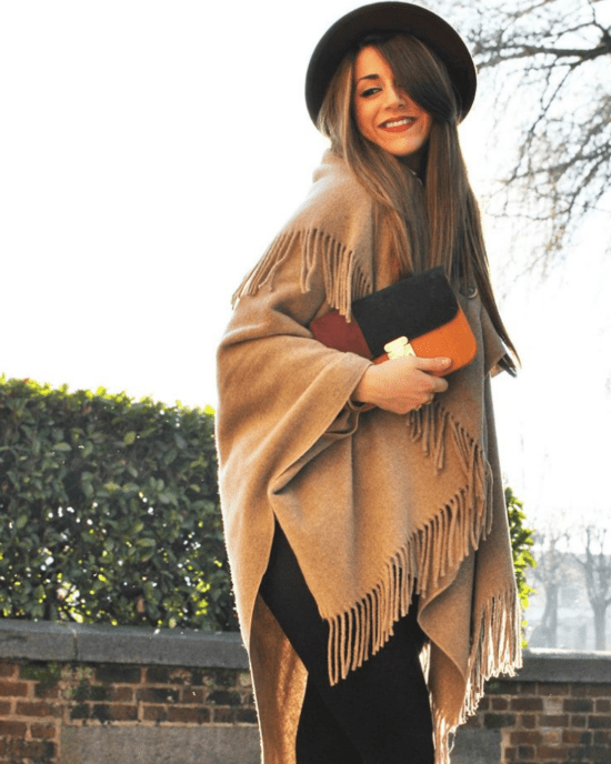 12 Poncho Styles To Rock Instead Of A Sweater