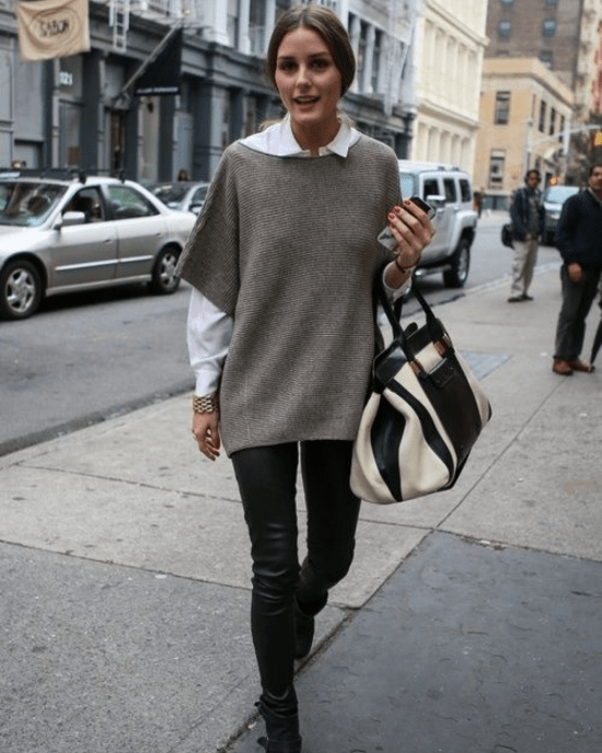 10 Poncho Styles To Rock Instead Of A Sweater