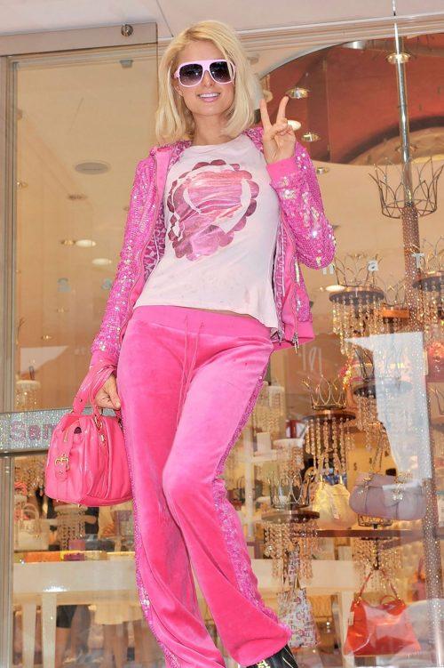 Paris Hilton In Pink TS