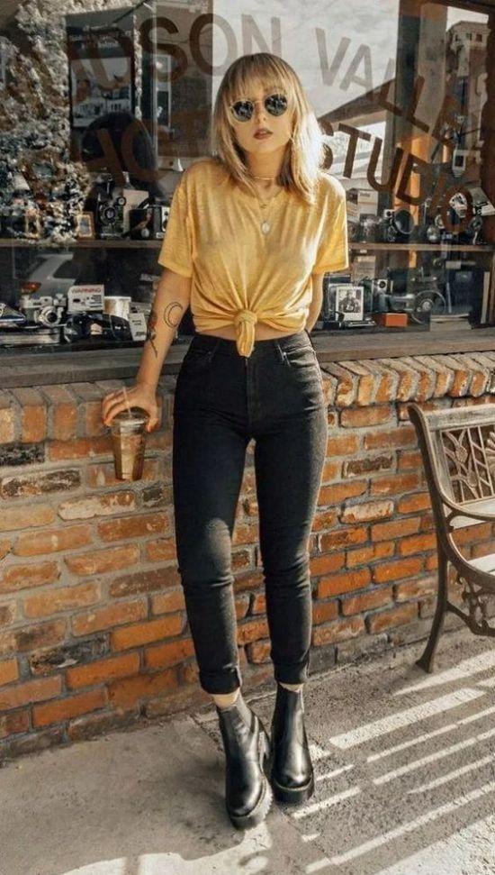 10 Ways To Dress Up The Big T-Shirt Trend
