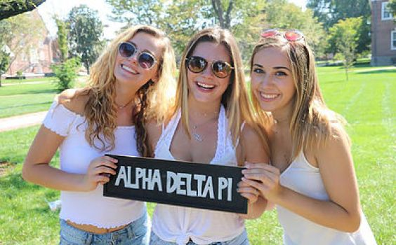 ADPi on the Green