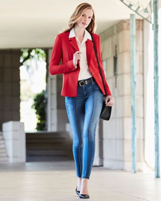 fine complete denim outfit jeans