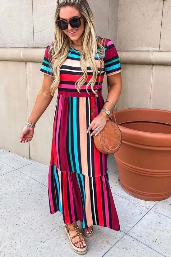 15 Knit Maxi Dresses You Can Wear To Work All Summer Long