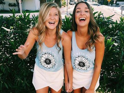 10 Sorority Recruitment Shirt Designs All Sisters Will Look Fab In