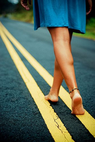 walk, road