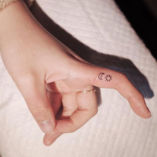 13 Adorable Small Tattoos You Can Hide