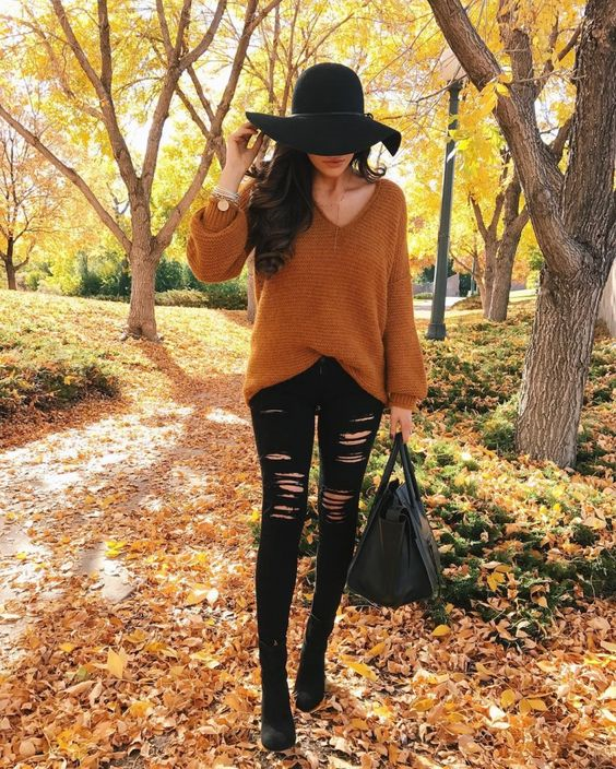 Casual FallOutfits For A Chilly Day