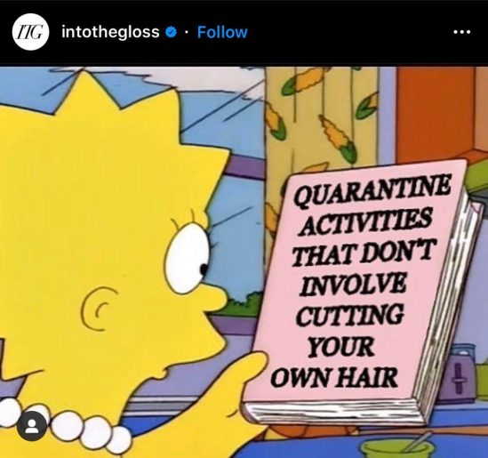 The Funniest Beauty Quarantine Memes That Will Make You LOL