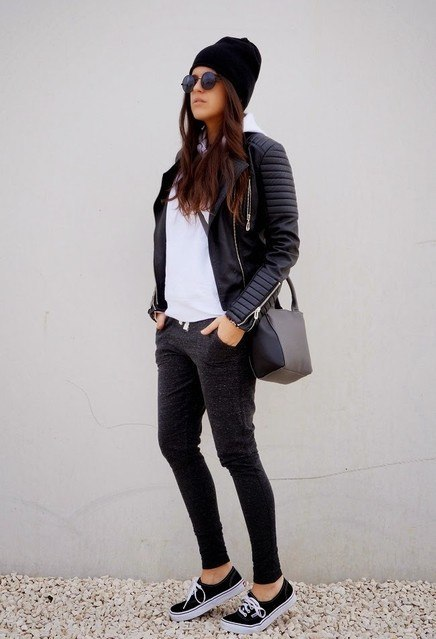 10 Edgy Outfits That Will Look Great With Your Pair Of Vans