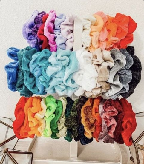 12 Velvet Scrunchies That Will Take Your Ponytail Game To The Next Level