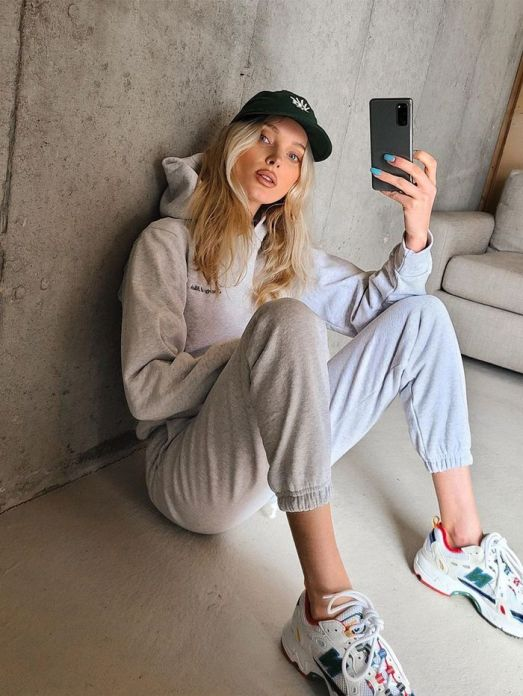 *10 Ways To Make Your Sweatpants Look Chic