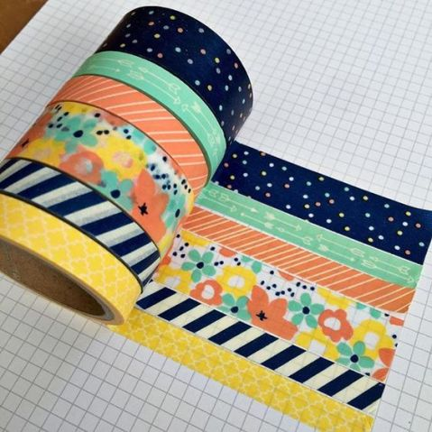 Washi tape can be used for so many things and is great for decorating your dorm room on a budget!