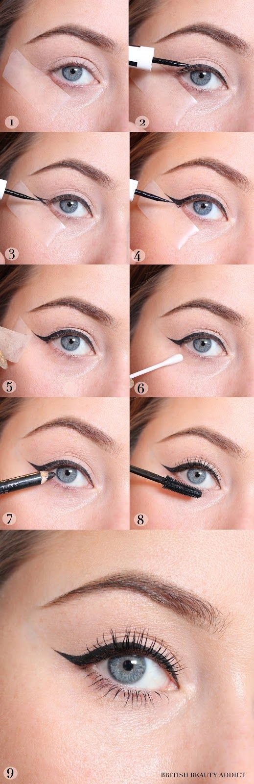 This cat eye look is so easy to do!