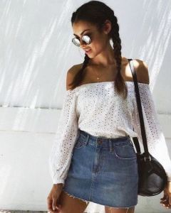 Off Shoulder denim society 19