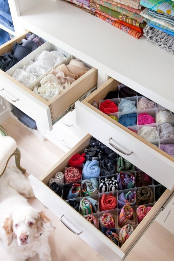 ... A Drawer Double It By Rolling Your Shirts. It Will Keep Them Neat And  Wrinkle Free. Make Your Organization Skills Even Better By Adding Drawer  Dividers!