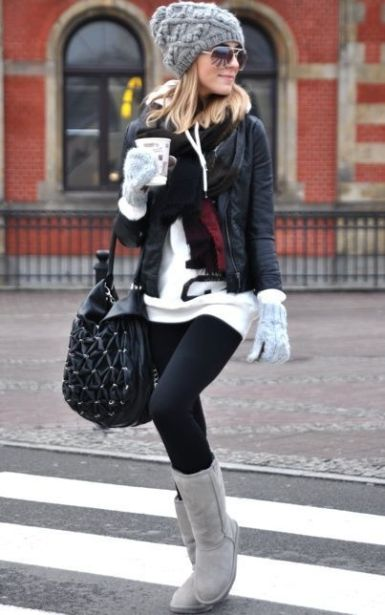 These cute cold weather outfits are perfect to combat those freezing temps!