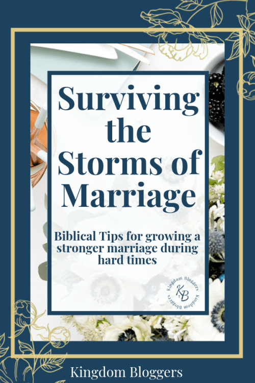 grow in the storms of marriage