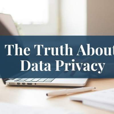 The Truth About Data Privacy – GDPR for Christian Bloggers