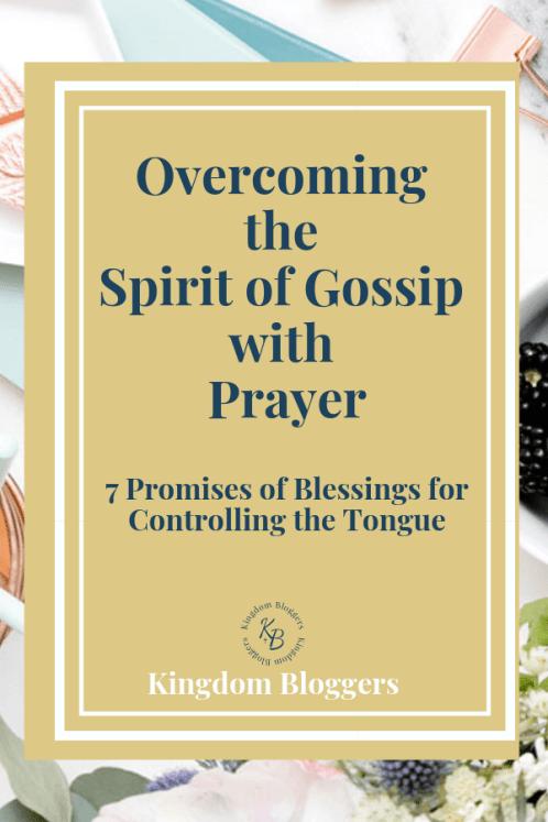 Overcoming the Spirit of Gossip