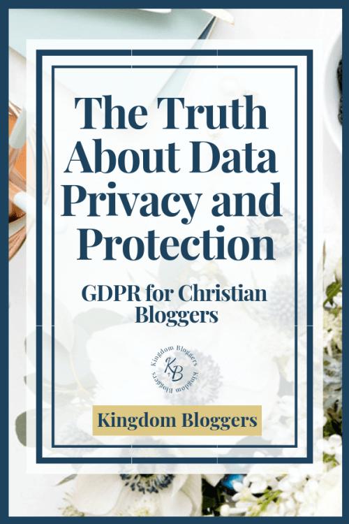GDPR for Christian Blogs